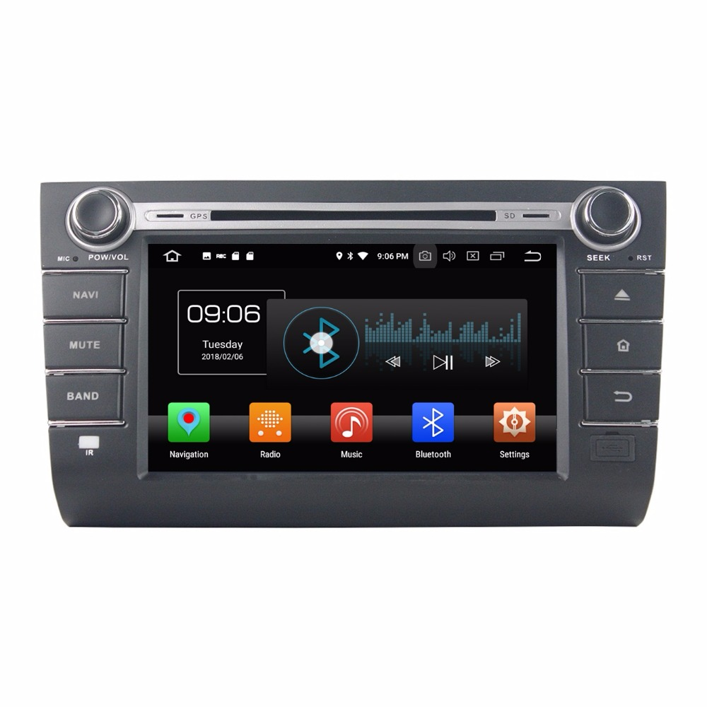 4 GB RAM Octa Çekirdek 8 Android 8.0 Araba PC Ses DVD Oynatıcı Radyo Ile Suzuki SWIFT 2004-2010 için GPS 4G WIFI Bluetooth TV USB DVR